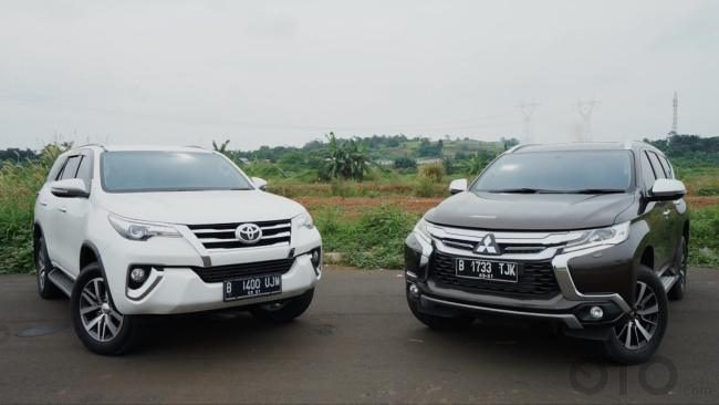 Perbandingan Toyota All New Fortuner VRZ Versus Mitsubishi All New Pajero Sport - Mid Size SUV Battle